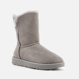 UGG Women's Classic Cuff Short Sheepskin Boots - Seal: Image 2