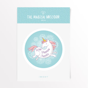 The Magical Unicorn Love Dream Create Vinyl Decal