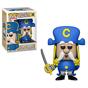 Figurine Pop! Cap'n Crunch avec Épée Quaker Oats