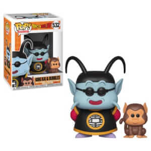 Dragon Ball Z - Kai e Bubbles Figura Pop! Vinyl