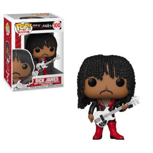 Pop! Rocks Rick James Superfreak Funko Pop! Figuur