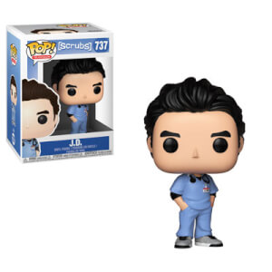 Figurine Pop! J.D. Pops Scrubs
