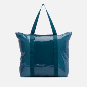 RAINS Glossy Ltd. Tote Bag - Faded Blue