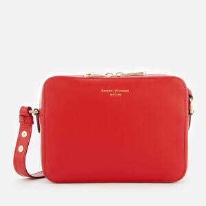Aspinal of London Women's Camera Bag - Scarlet