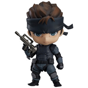 Metal Gear Solid Nendoroid Action Figure - Solid Snake 10 cm
