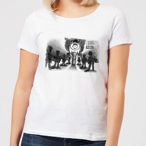 Toy Story Evil Dr Pork Chop Speech Women's T-Shirt - White