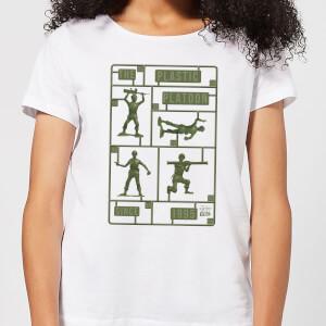 Toy Story Plastic Platoon Women's T-Shirt - White