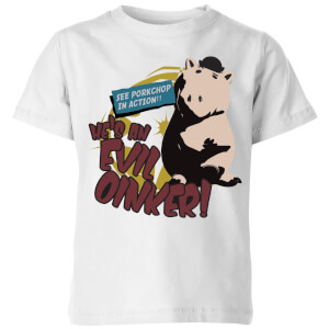 Toy Story Evil Oinker Kids' T-Shirt - White