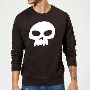 Toy Story Sid's Skull Sweatshirt - Black
