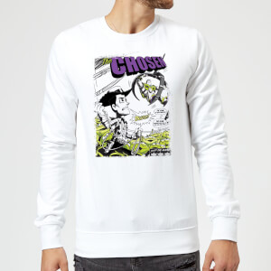Toy Story Comic Cover Sweatshirt - White