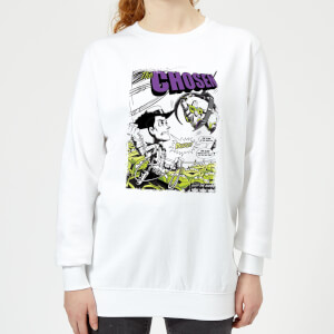 Toy Story Comic Cover Women's Sweatshirt - White