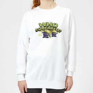 Toy Story Who Squeaked Damen Pullover - Weiß