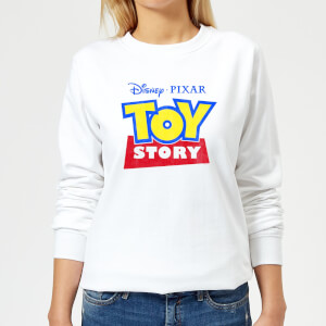 Toy Story Logo Women's Sweatshirt - White