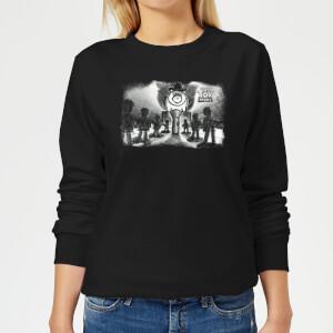 Toy Story Evil Dr Pork Chop Speech Women's Sweatshirt - Black