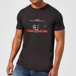 Hammer Horror Hound Of The Baskervilles Men's T-Shirt - Black
