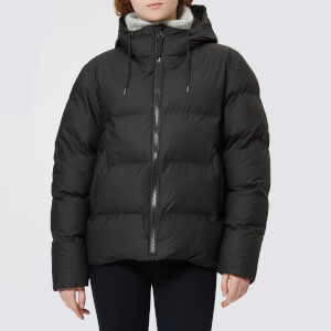 RAINS Women's Puffa Jacket - Black