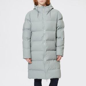 RAINS Women's Long Puffa Jacket - Stone