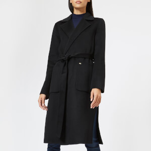 MICHAEL MICHAEL KORS Women's Double Breasted Wool Coat - Black