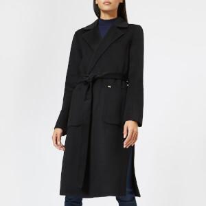MICHAEL MICHAEL KORS Women's Double Breasted Wool Coat - Black