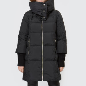 MICHAEL MICHAEL KORS Women's Fashion Heavy Down Puffa Jacket - Black