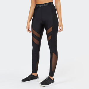 Ivy Park Women's Regal Drape Leggings - Black
