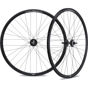 Miche X-Press Pista/Rod Wheelset - 700c - Black