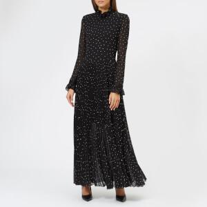 Philosophy di Lorenzo Serafini Women's Long Sleeve Maxi Dress - Black