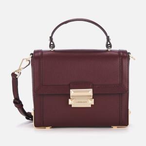 MICHAEL MICHAEL KORS Women's Jayne Small Trunk Bag - Oxblood