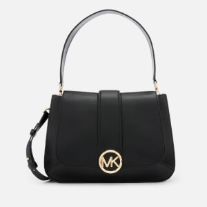 MICHAEL MICHAEL KORS Women's Lillie Medium Flap Messenger Bag - Black
