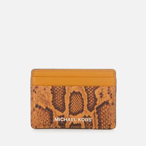 MICHAEL MICHAEL KORS Women's Money Pieces Card Holder - Marigold
