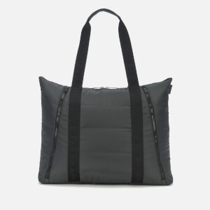 Women's Quilted Tote Bag - Gunmetal