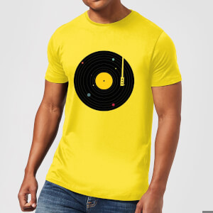 Florent Bodart Music Everywhere Men's T-Shirt - Yellow