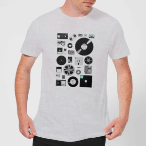 Florent Bodart Data Men's T-Shirt - Grey