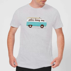 Florent Bodart Blue Van Men's T-Shirt - Grey
