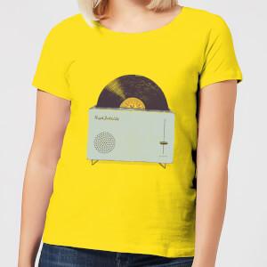 Florent Bodart High Fidelity Women's T-Shirt - Yellow