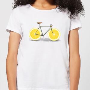 Citrus Lemon Women's T-Shirt - White
