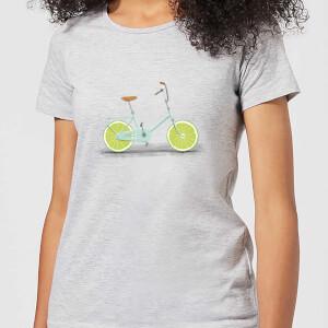 Florent Bodart Citrus Lime Women's T-Shirt - Grey