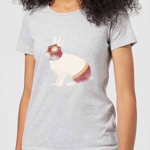 Florent Bodart Lapin Catcheur Women's T-Shirt - Grey