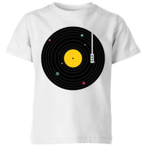 Florent Bodart Music Everywhere Kids' T-Shirt - White