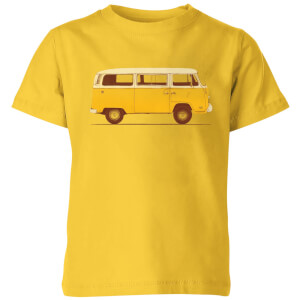 Florent Bodart Yellow Van Kids' T-Shirt - Yellow