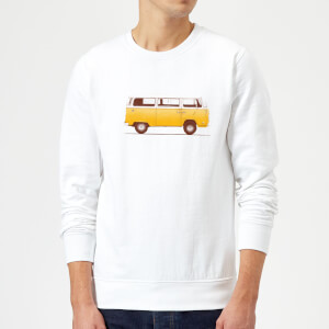 Florent Bodart Yellow Van Sweatshirt - White