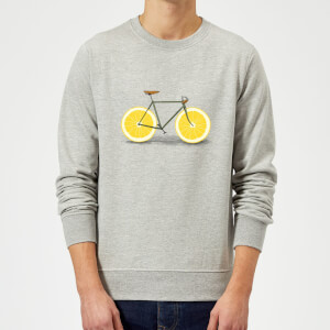 Florent Bodart Citrus Lemon Sweatshirt - Grey