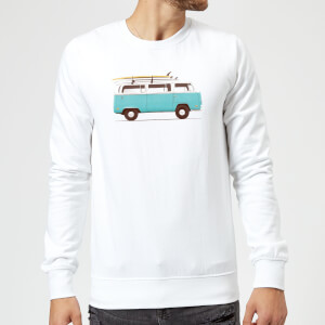 Florent Bodart Blue Van Sweatshirt - White