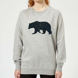 Florent Bodart Bear Women's Sweatshirt - Grey