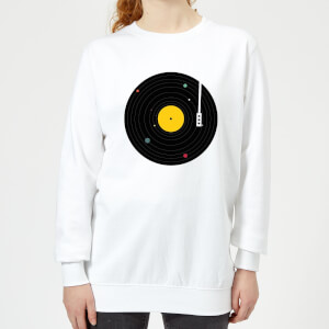 Florent Bodart Music Everywhere Women's Sweatshirt - White