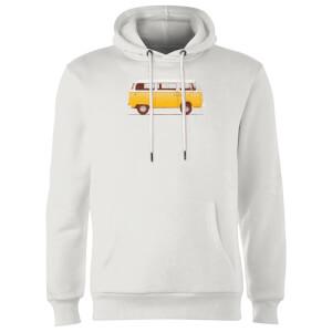 Florent Bodart Yellow Van Hoodie - White