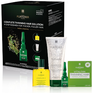 Rene Furterer Complete Thinning Hair Solution 4-Step Kit - Sudden Temporary