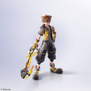 Kingdom Hearts III Bring Arts Action Figure Sora Guardian Form Version 16cm
