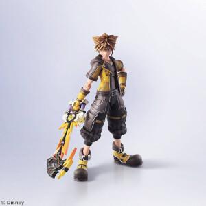 Kingdom Hearts III Bring Arts Action Figure Sora Guardian Form Version 16cm