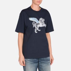 Golden Goose Deluxe Brand Women's Leo T-Shirt - Dark Navy Strass
